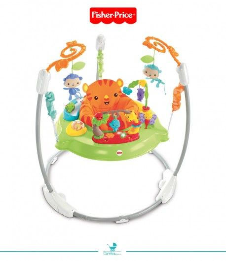 Saltador de Animalitos de la Selva Fisher Price