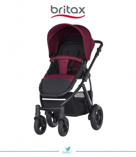 Silla de Paseo Britax Smile 2 Wine Red
