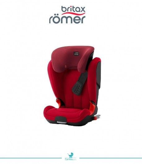 Silla de Auto Britax KidFix XP Black Series Flame Red